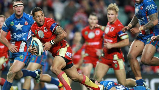 Benji Marshall is showing glimpses of what he is capable of, says teammate Josh Dugan.