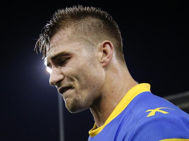 Cruel blow: Foran ruled out for season