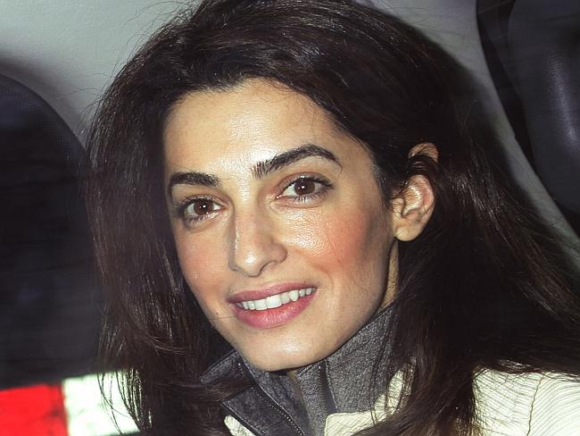 Amal Alamuddin was educated at Oxford. Impressive.