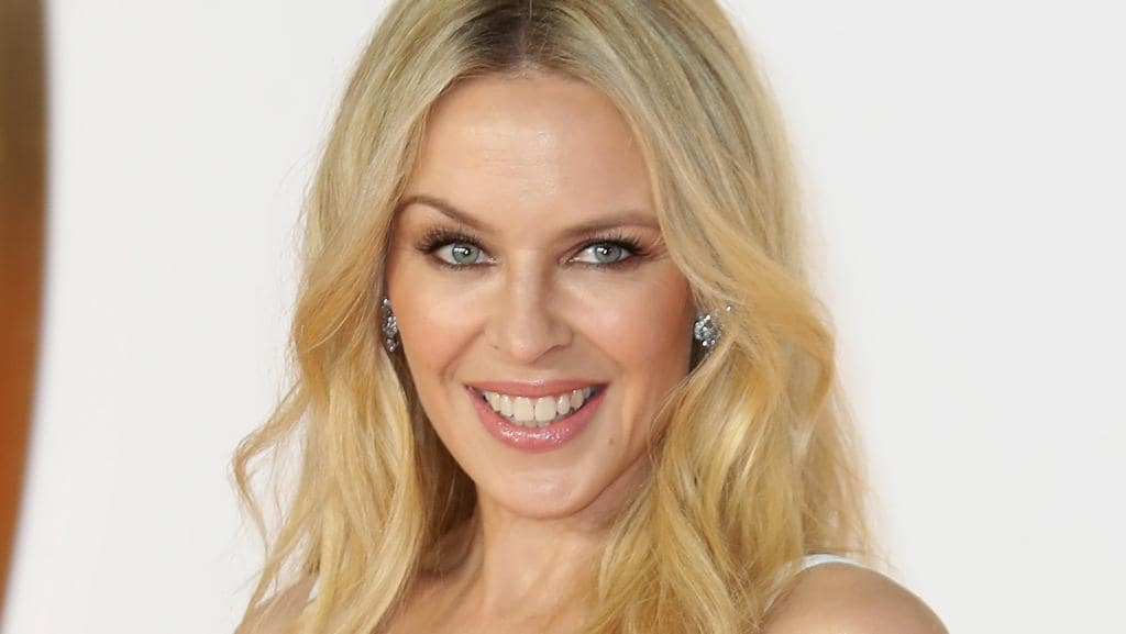 Kylie Minogue has been accused of photoshopping her latest calendar. Picture: Getty.