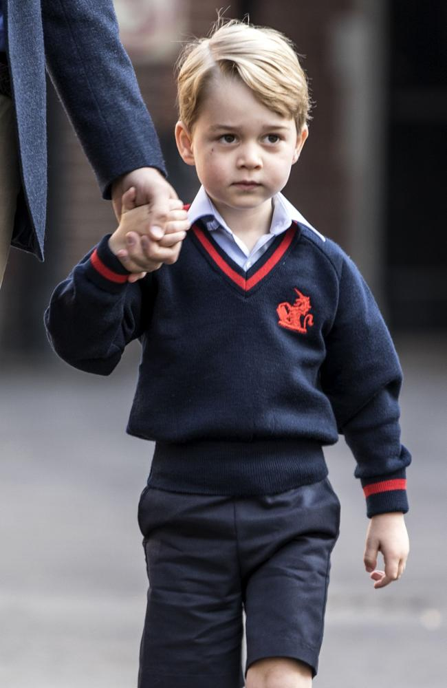 Prince George's appearance has come under fire from a Labour MP. Picture: AFP