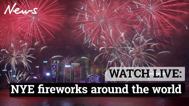Watch Live: NYE Fireworks Around The World