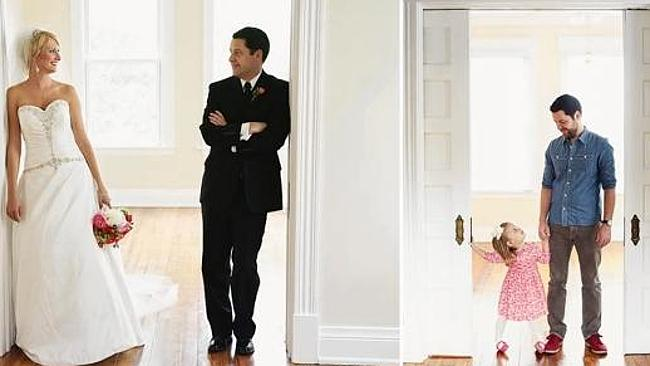 Photographer Melanie Pace took her sister's wedding photos in 2009, and then recreated the shoot with Ben and Olivia this year.
