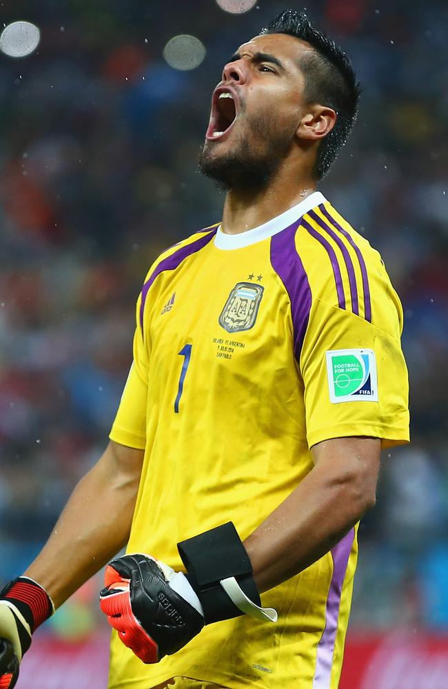 That really was a stunning performance from Romero in the penalty shootout.