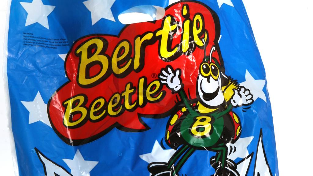 A Bertie Beetle show bag may cost you 25 per cent extra in surcharges.