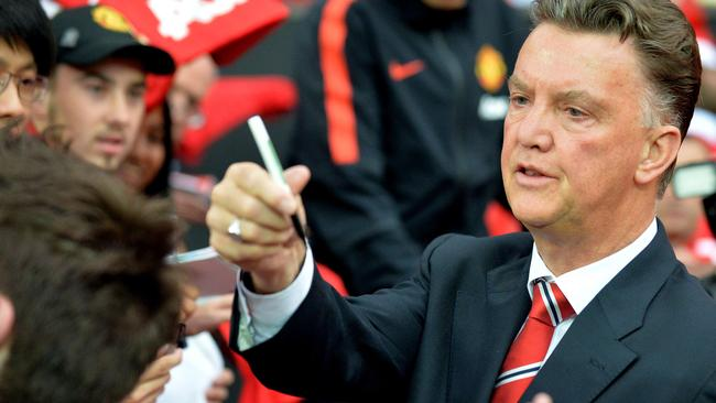 Manchester United manager Louis Van Gaal says it was an important decision for him to make.