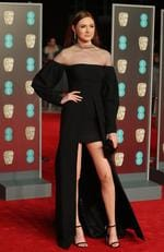 British actress Karen Gillan poses on the red carpet upon arrival at the BAFTA British Academy Film Awards at the Royal Albert Hall in London on February 18, 2018. Picture: AFP PHOTO / Daniel LEAL-OLIVAS