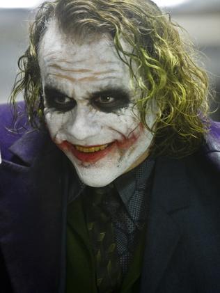 Ledger as The Joker.