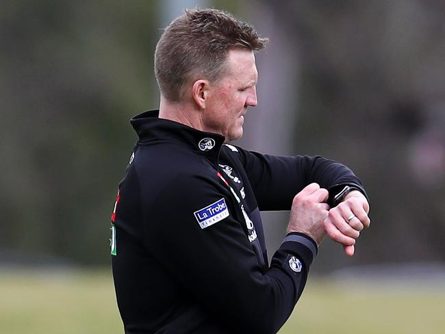 Is time running out for Collingwood coach Nathan Buckley.
