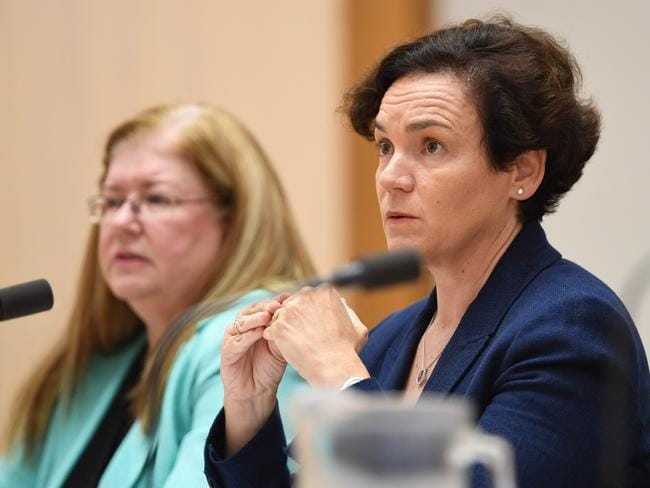 Department of Human Services secretary Kathryn Campbell has defended the department launching debt investigations into Centrelink recipients over Christmas. Picture: AAP Image/Lukas Coch