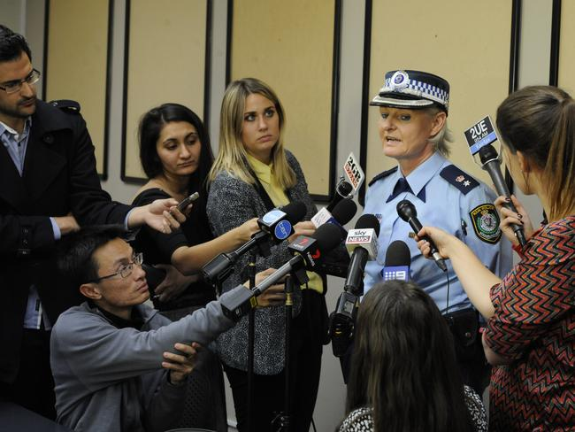 Acting Supt Jennifer Scholz tells reporters police believe the two men involved in the attack at Parramatta Mall were known to each other.