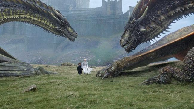 The shocking dragon twist stunned fans. Picture: HBO