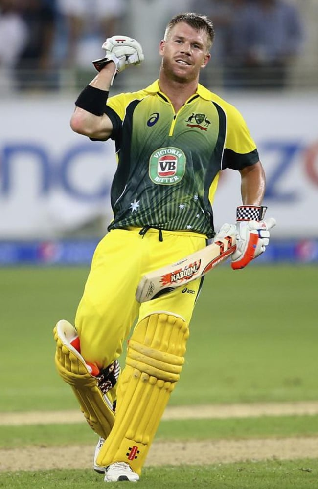 David Warner will be out to help Australia win its first World T20 in India. Picture: Getty Images
