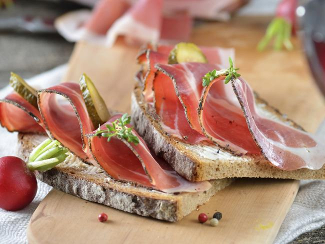 Cured meats are full of histamines, which can play a big role on fatigue on your body. Picture: iStock.