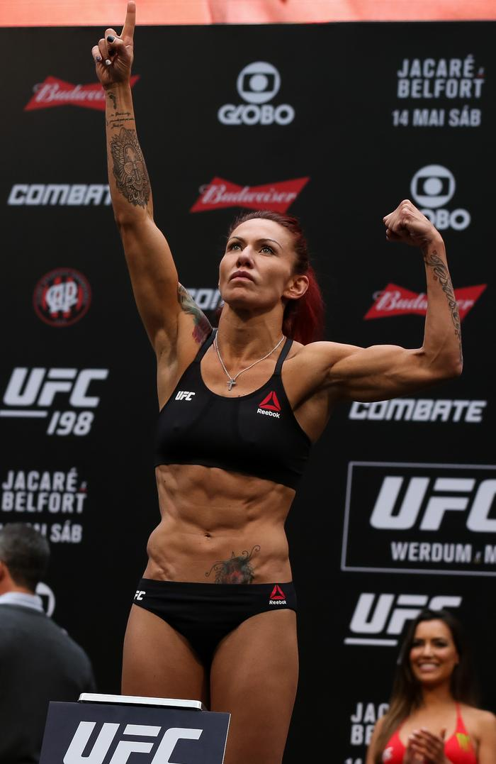 Image result for cris cyborg weigh in