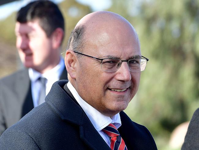 """Arthur Sinodinos says he is """"categorically not a dual citizen"""". Picture: Bianca De Marchi"""