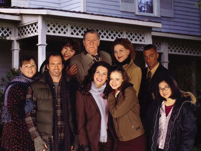 Together again ... The cast of the TV show 'Gilmore Girls'.