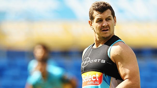 Greg Bird ahead of the blockbuster clash with the Brisbane Broncos on Friday night. Picture: Brendan Radke.