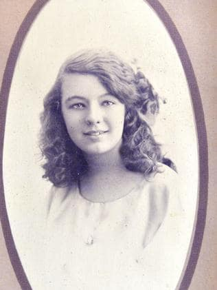 Dorothea Cass in her younger years.