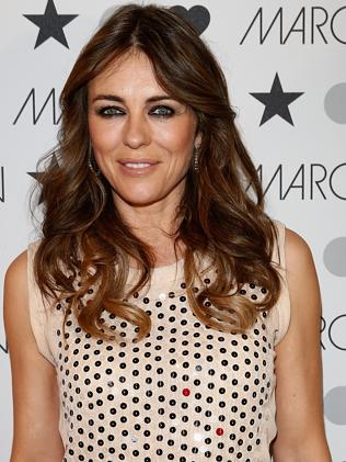 Slamming 'ludicrously silly' rumours ... Liz Hurley. Picture: Andreas Rentz/G...