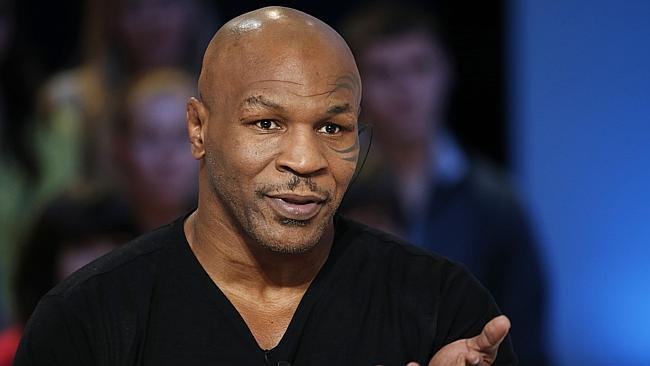 "In disbelief ... Mike Tyson has accused Dennis Rodman of ""treason''. Picture: AFP"