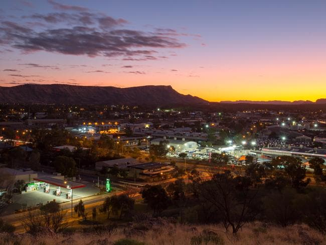 Alice Springs could be unliveable if climate change continues, according to Prof Lowe.