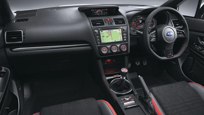 Good layout: the infotainment is easy to manage