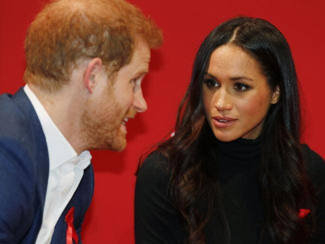 It's been a tough few days for Meghan Markle. Picture: Adrian Dennis/WPA Pool/Getty Images