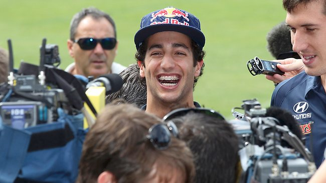 Daniel Ricciardo had plenty of reasons to smile at the Australian GP after finishing in the points in the first race of the season.