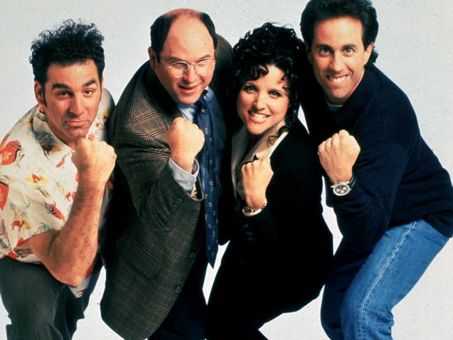 Seinfeld went for nine awesome seasons.