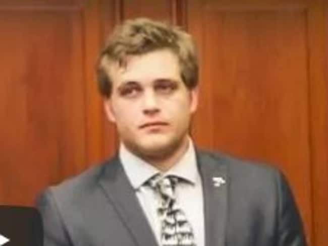 Accused family axe killer Henri van Breda, 22, takes the stand or the first time in his triple murder trial on Tuesday. Picture: Supplied