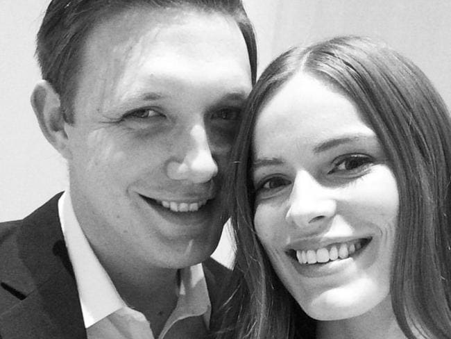 "In love ... Robyn Lawley and her ""shy"" boyfriend, Everest Schmidt. Picture: Instagram"
