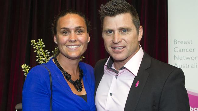 Shane Crawford and Olivia Anderson paid $1.615 million and sold it to the current owners for $2.185 million. Picture: Sarah Matray
