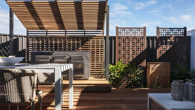 The Sunny Deck In The Masterton Duplex Eclipse On Display At Warwick Farm