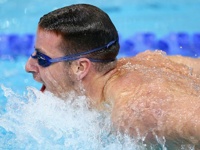 James Magnussen will be in action during the second day of competition in Glasgow.