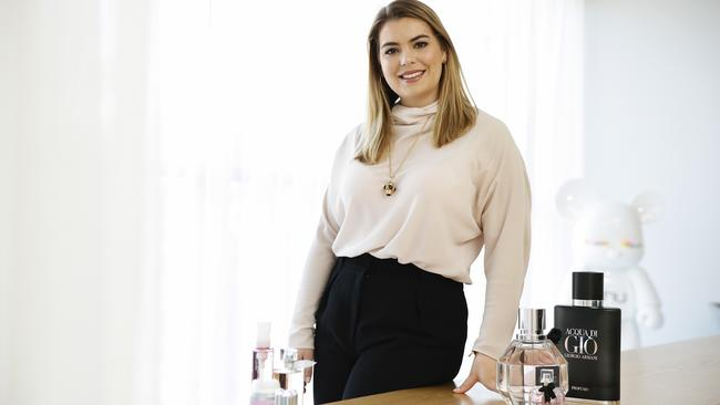 Natasha Bridges got a job at L'Oreal after studying at the International College of Management. Picture: Justin Lloyd