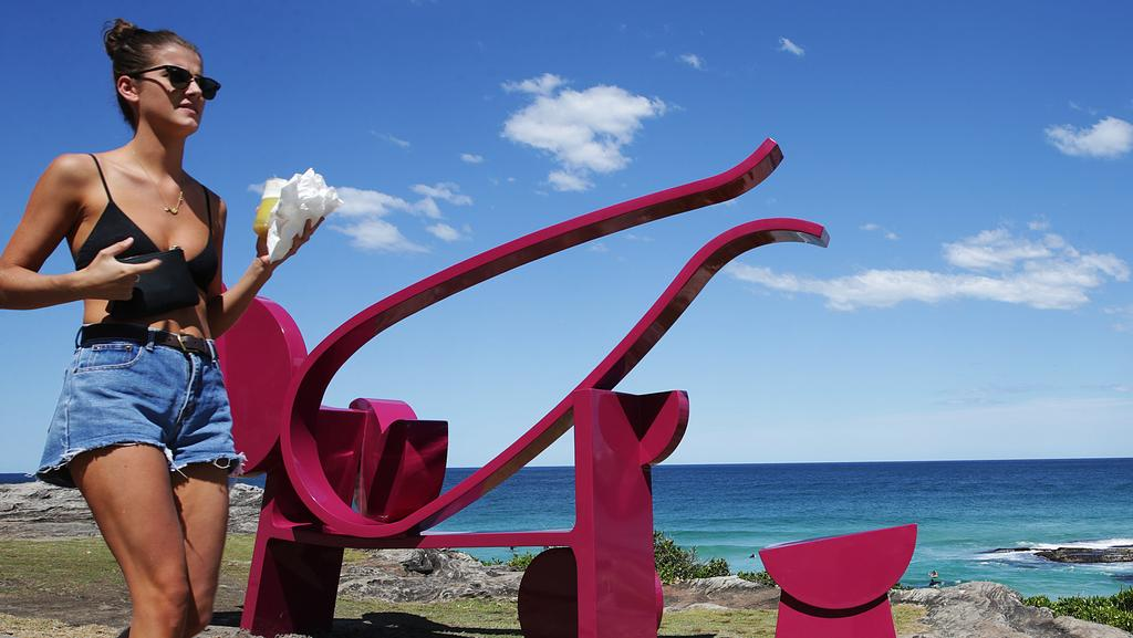 Crowds will flock to the famous coastal walk this week for sculptures