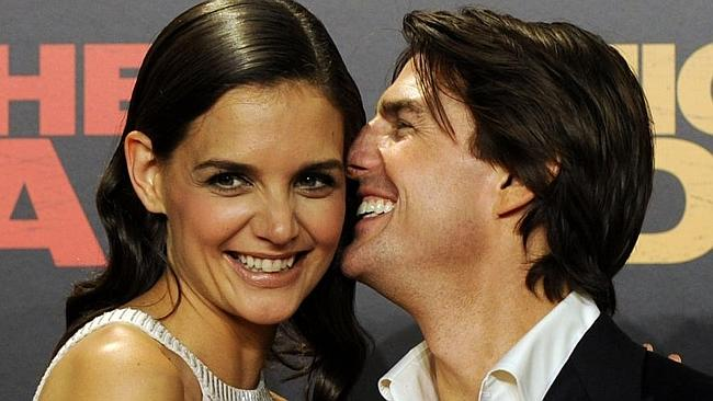 Cruise and Holmes split in 2012. Photo: AFP