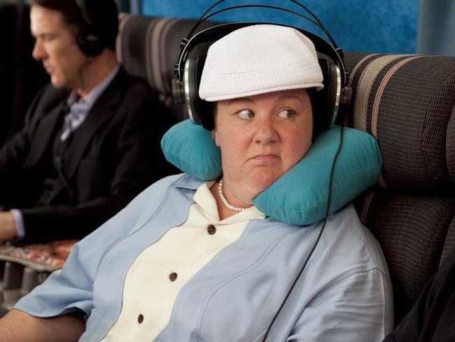 Melissa McCarthy stole the show in Bridesmaids.