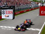 2014: Red Bull-Renault RB10. Newey's latest winner. Difficult out of the box, the car struggled through winter testing. Though it doesn't have the outright speed of the dominant Mercedes, is clearly best in class behind them. Carried Daniel Ricciardo to a remarkable victory in the Canadian Grand Prix.