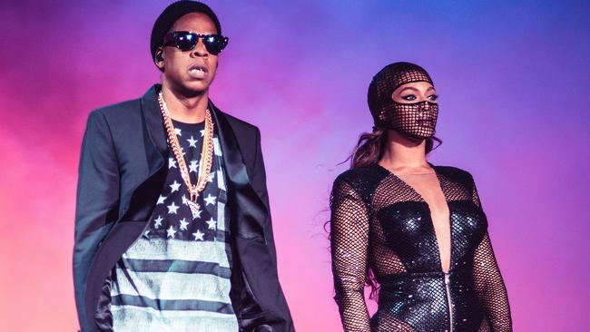 Beyonce and JAY Z are touring together in the US at the moment.
