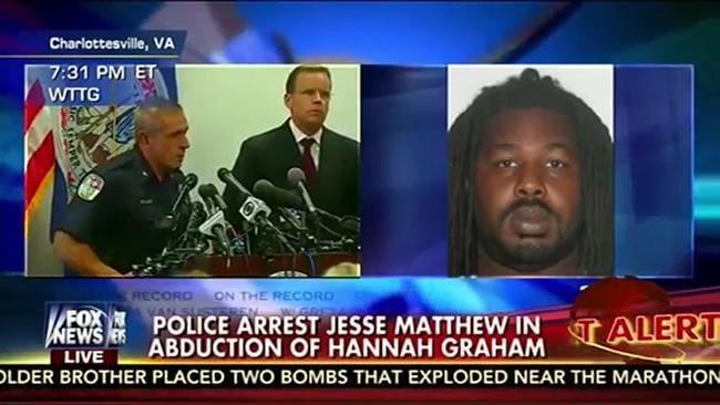 Hannah Graham: Forensic evidence links suspect Jesse ...