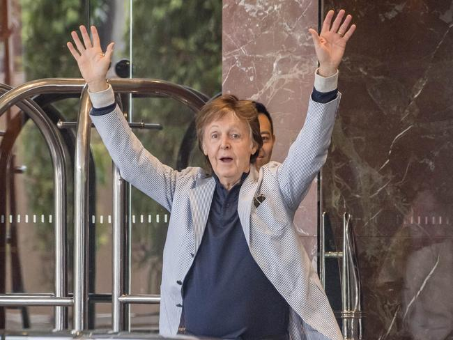 It will be Sir Paul McCartney's first Brisbane performance since the Beatles played the city in 1964.