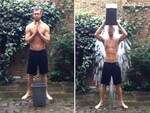 "DJ Calvin Harris, ""Challenge accepted @tinashenow & @tiesto lets doooo this!!! #ALSIceBucketChallenge I nominate @emilnava @evashaw & @johnnewmanmusic""... VIEW VIDEO Picture: Instagram"