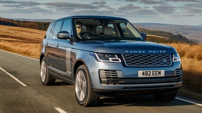 Land Rover's plug-in hybrid has V6-like power. Pic: Supplied.