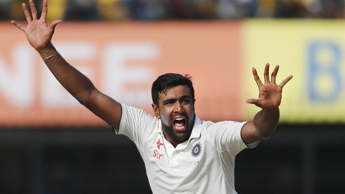 Ravichandran Ashwin was named both man of the match and player of the series.