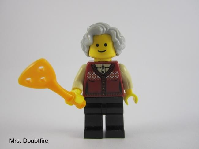 Mrs Doubtfire. Picture: Jays Brick Blog