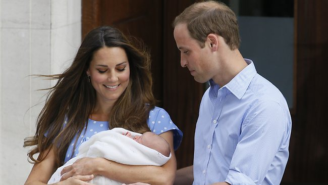 Kate William Prince George