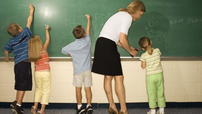 Chalk it up to confidence. Your child might be better off at a worse performing school.