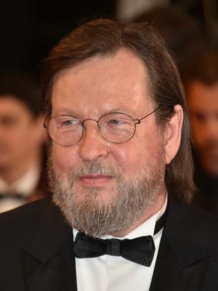 Lars von Trier on the red carpet before the screening. Picture: Phil Loftus/Capital Pictures / MEGA